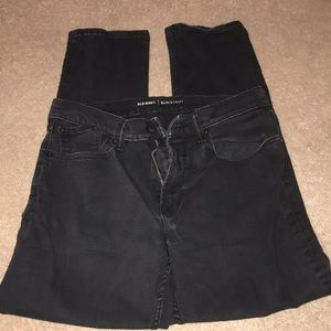 Men's black slim jeans